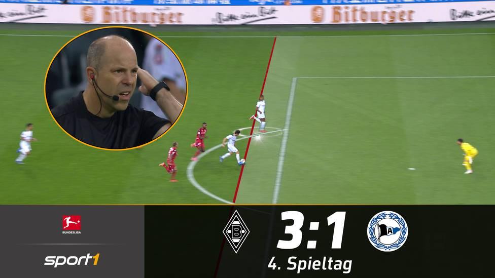 Der erste Bundesliga-Sieg unter Adi Hütter ist eingefahren. Die Borussia liefert aber auch eine Slapstickszene beim 3:1-Sieg über Bielefeld.