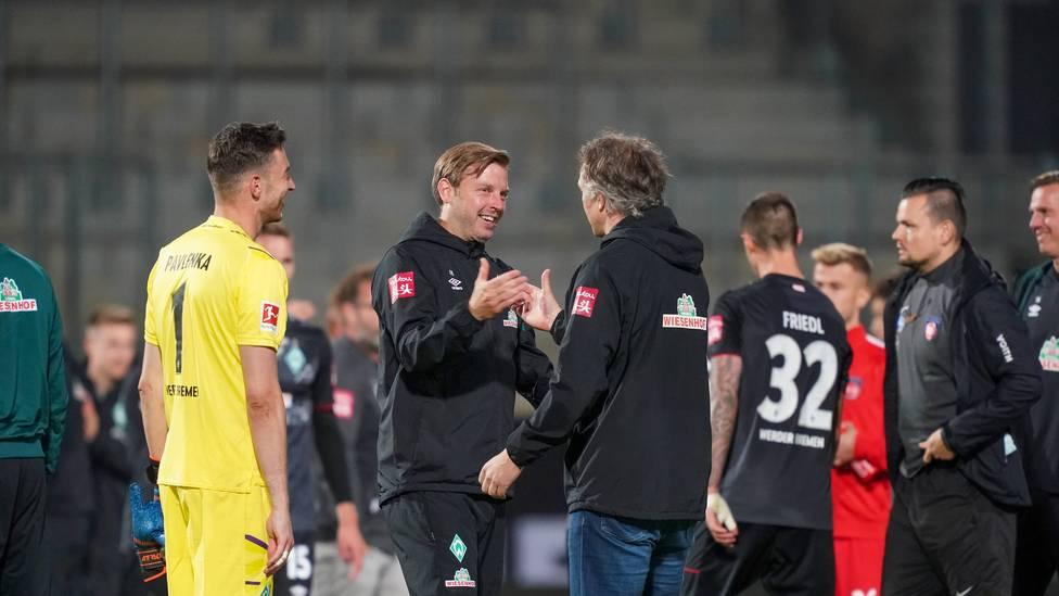 Nach dem Klassenerhalt von Werder Bremen lautet die wohl drängendste Frage, wie es mit Trainer Florian Kohfeldt weitergeht. Nach SPORT1-Informationen deutet alles daraufhin, dass Kohfeldt der Coach in Bremen bleibt.