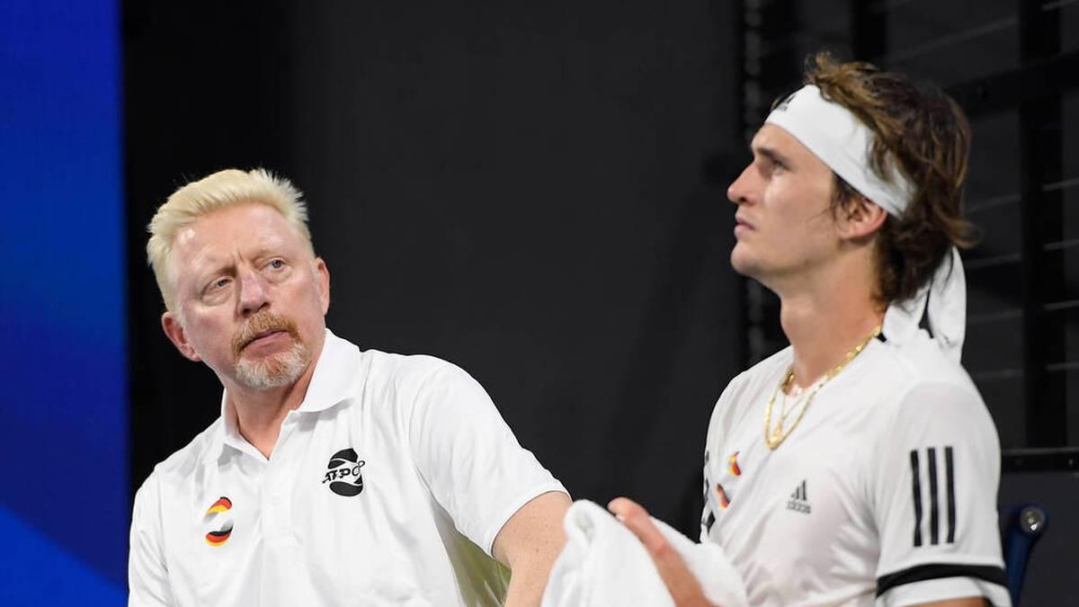 Boris Becker kritisiert Alexander Zverev und wirft ihm vor, an sich selbst zu scheitern. Nun reagiert der 24-Jährige auf die Kritik.