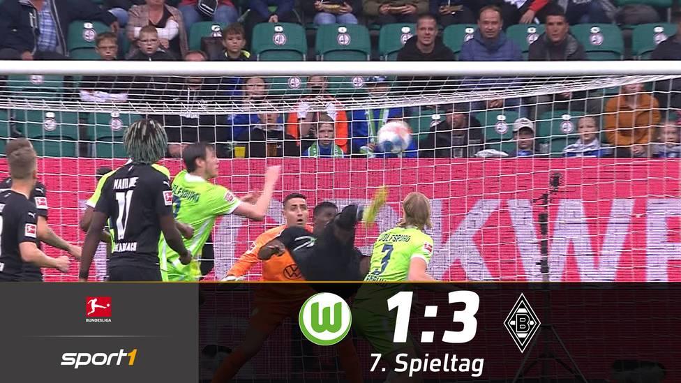 Borussia Mönchengladbach feiert in Wolfsburg einen Big Point. Die Fohlen fahren ihren ersten Auswärtssieg nach einem Blitz-Doppelpack ein.