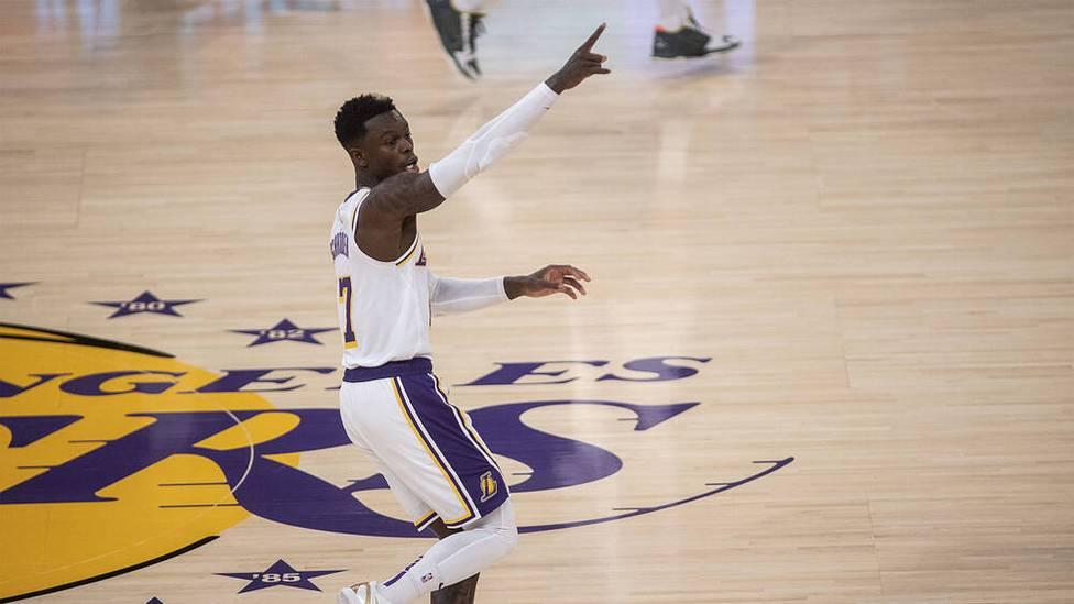 Die Los Angeles Lakers stehen nach einer deutlichen Niederlage in Spiel 5 gegen die Phoenix Suns vor dem Erstrundenaus in den NBA Playoffs. Dennis Schröder zeigt sich selbstkritisch.