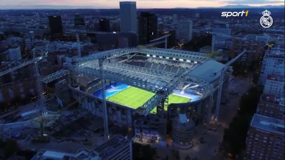 Das Stadion von Real Madrid wurde für knapp 800 Millionen Euro umgebaut. Bei der Rückkehr schlugen die Königlichen Celta Vigo 5:2
