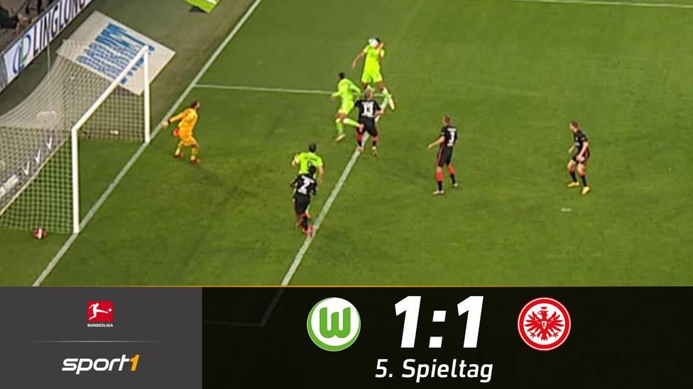Oliver Glasner entführt bei seiner Rückkehr nach Wolfsburg einen Punkt mit Eintracht Frankfurt. Die Wölfe müssen somit das erste Mal in dieser Saison Punkte abgeben.