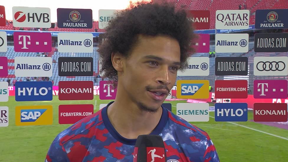 Leroy Sané ist weiter im Aufwärtstrend und verrät nach einer starken Leistung gegen Bochum, wie sich die Bayern noch weiterentwickeln.