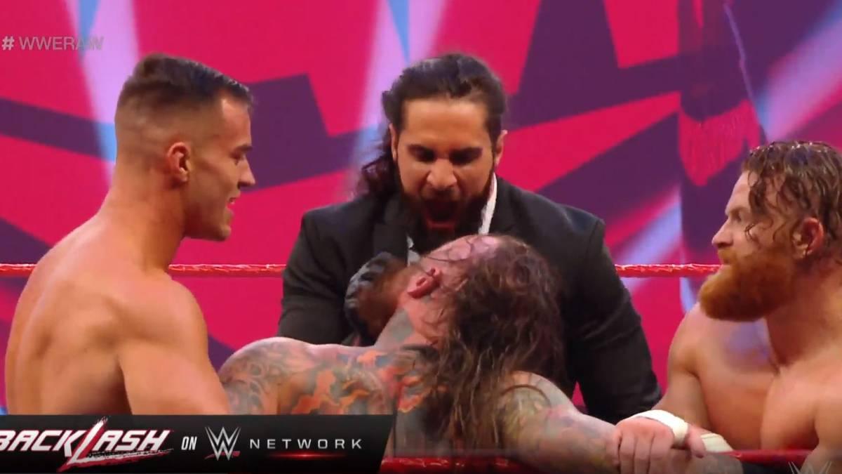 """Seth Rollins lädt Rey Mysterio und Sohn Dominic zu WWE RAW ein. Vorher bekommt jedoch noch ein Niederländer die Methoden des """"Monday Night Messiah"""" zu spüren."""