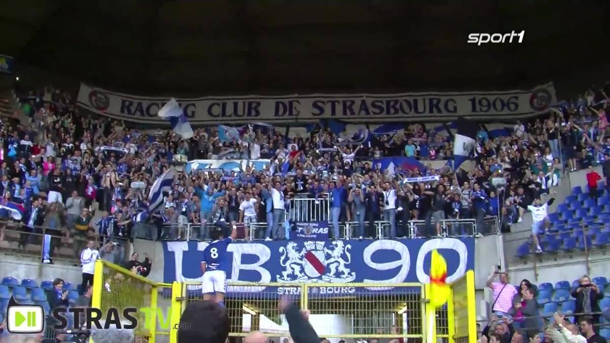 Mit dem Aufstieg in die 4. Liga nimmt Racing Straßburg 2012 den ersten Schritt auf dem Weg zurück nach oben. SPORT1 zeigt das entscheidende Spiel.