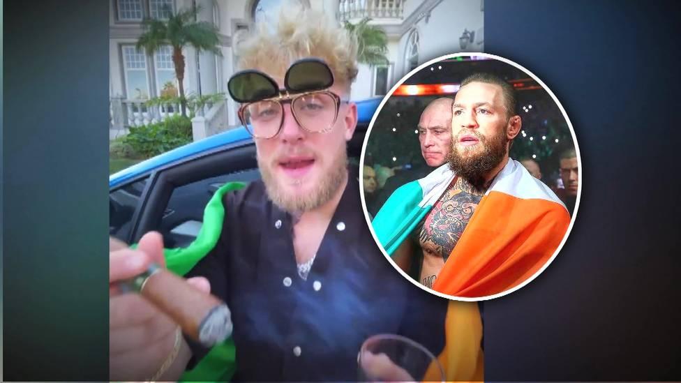 Der schon im Tyson-Vorprogramm aktive YouTuber Jake Paul will Conor McGregor zu einem Boxkampf überreden - und provoziert ihn mit einem bitterbösen Clip.