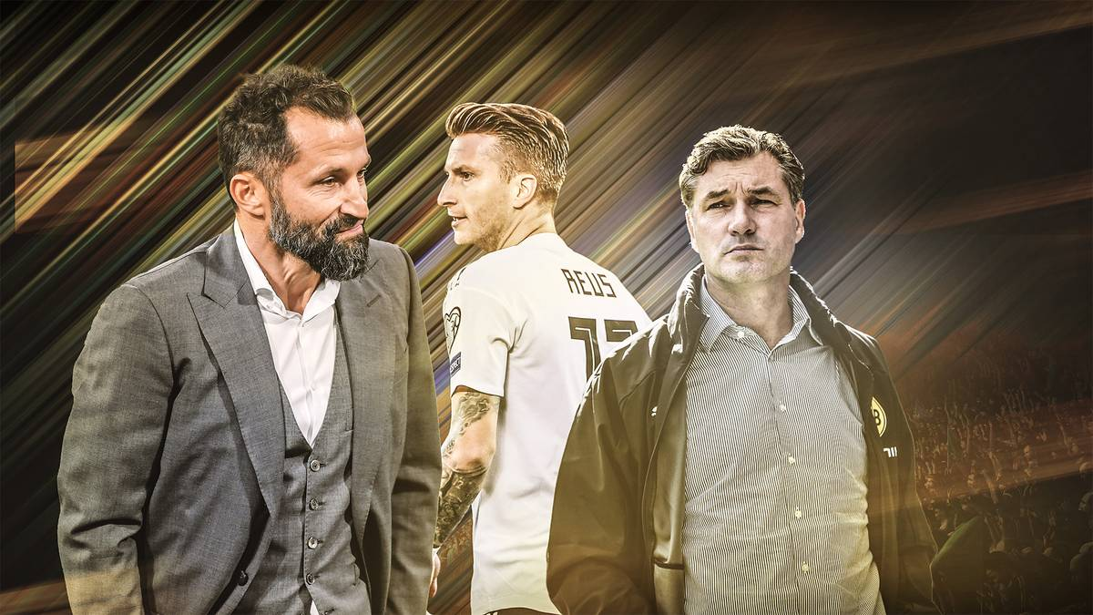 Hasan Salihamidzic kritisierte überraschend Marco Reus und bekam eine Breitseite von Michael Zorc. Wieso gibt es plötzlich wieder Zoff zwischen Bayern und Dortmund?