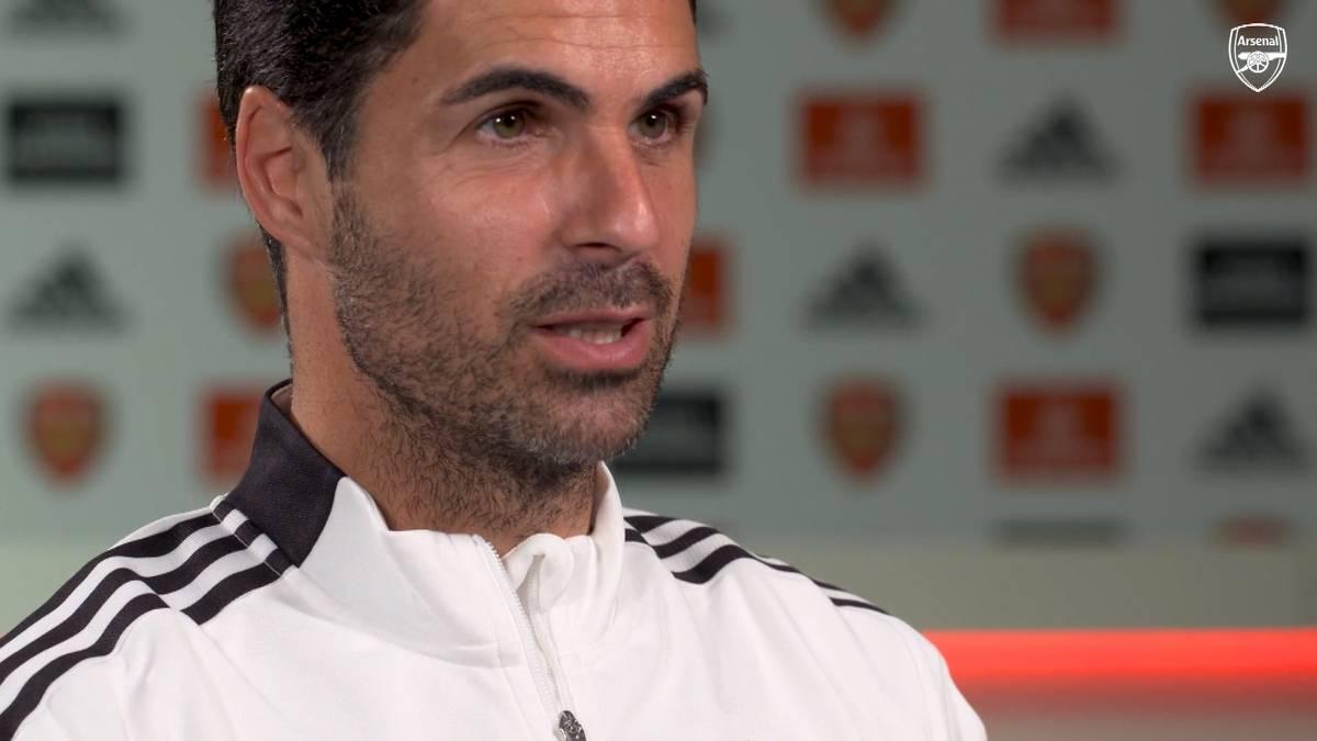 Arsenal hat in der Liga einen historischen Fehlstart hingelegt. Coach Mikel Arteta bezieht Stellung und nimmt die Spieler in die Pflicht.