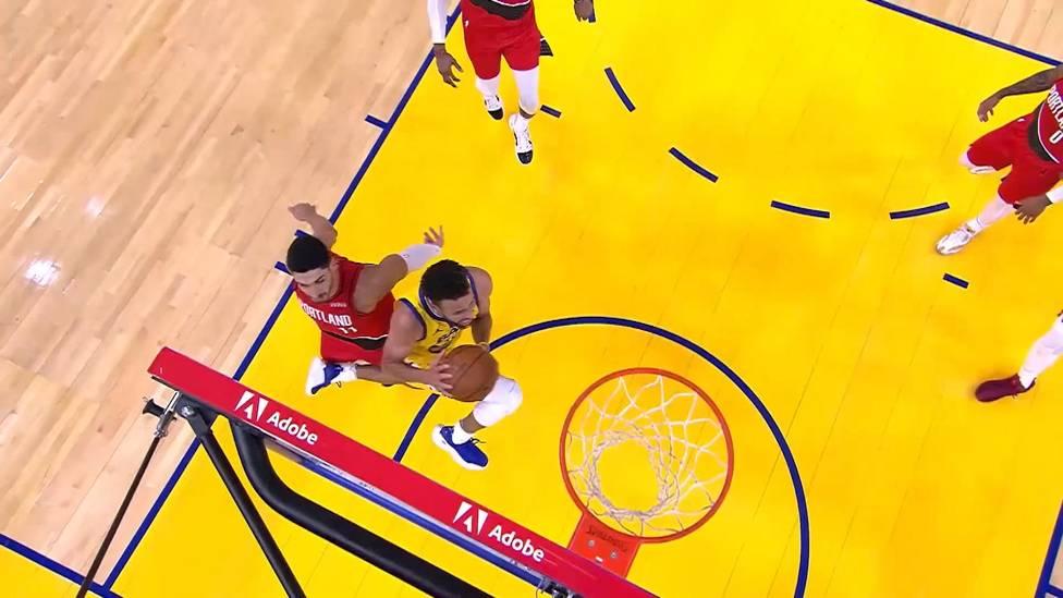 Magische Nacht für Stephen Curry! Beim 137:122-Erfolg seiner Golden State Warriors gegen die Portland Trail Blazers legt der Point Guard eine historische Gala hin und erzielt 62 Punkte.
