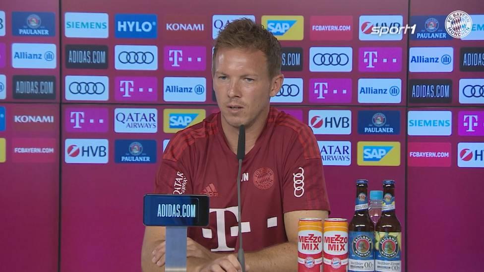 Julian Nagelsmann drohen bei seiner Rückkehr nach Leipzig am Samstag Pfiffe. Der FCB-Coach geht trotzdem mit Vorfreude in das Top-Spiel.