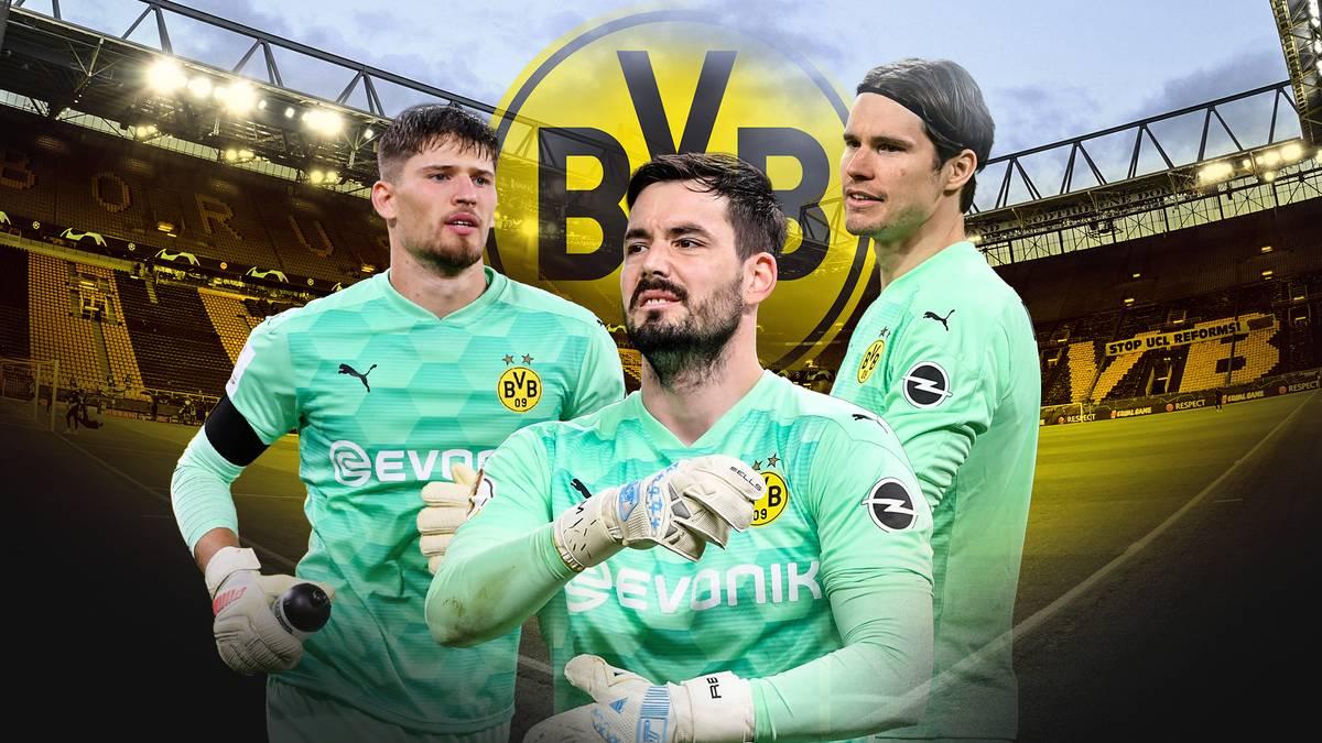 Borussia Dortmund hat auf der Torhüter-Position ein Schweizer Luxusproblem. Roman Bürki will trotz einiger Angebote um seinen Platz im Tor kämpfen.