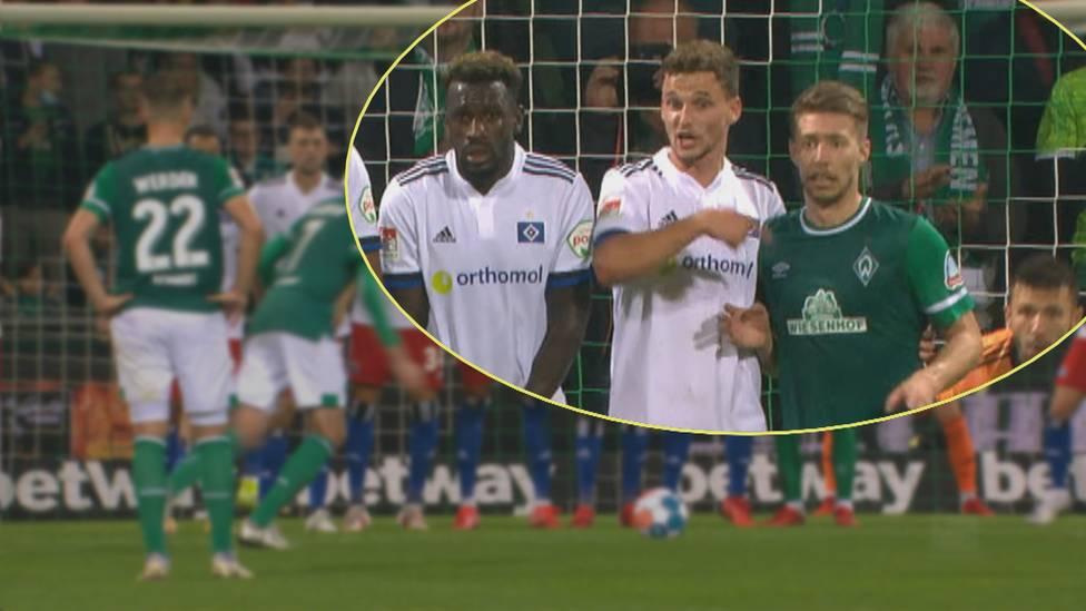 Arnd Zeigler, Stadionsprecher von Werder Bremen, äußert sich im Doppelpass 2. Bundesliga zur Aufreger-Szene im Nordderby und erklärt wie er auch wütende Fans beruhigen konnte.