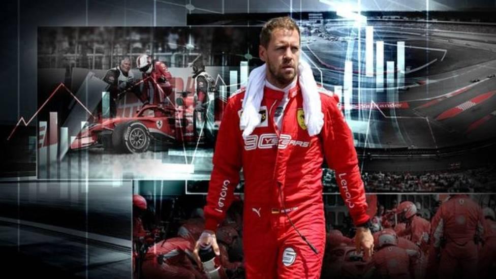 """""""Arrividerci, Ferrari"""": Sebastian Vettel verlässt die Scuderia nach fünf Jahren zum Saisonende.  Eine Zeit, von der sich die Beteiligten mehr versprochen hatten, als sie letztlich erfüllten konnte."""