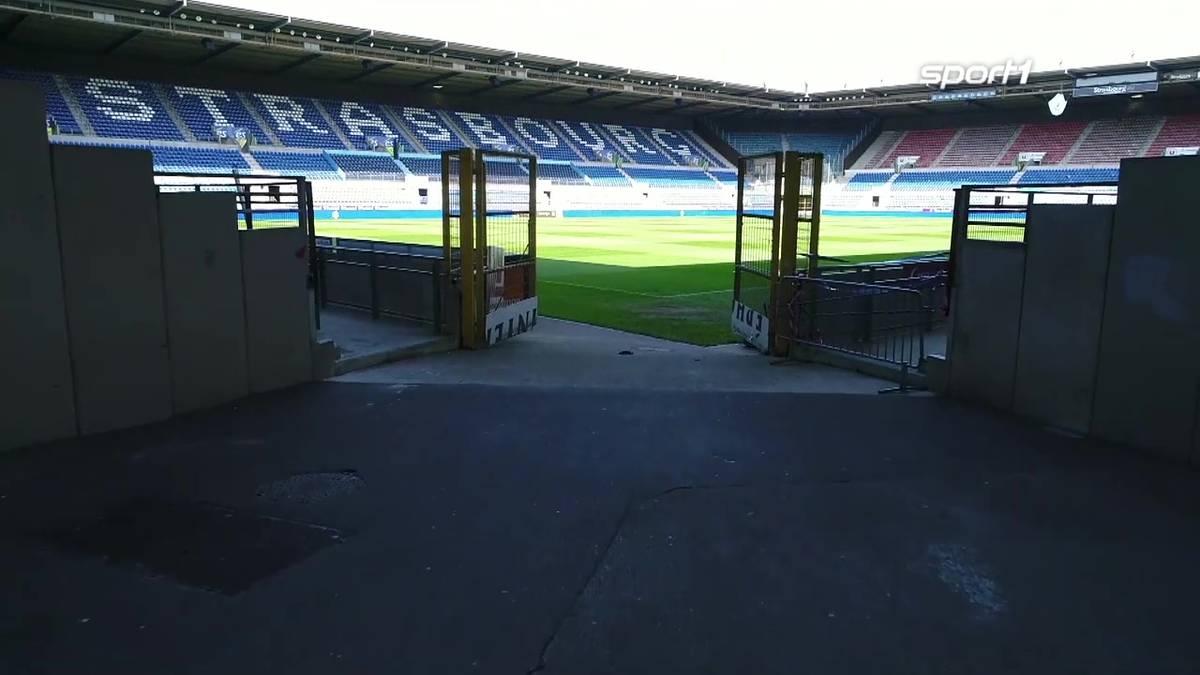 Viel Tradition, viele Erfolge, aber auch schwere Stunden: Das Stade de la Meinau ist die Heimat von Racing Straßburg.