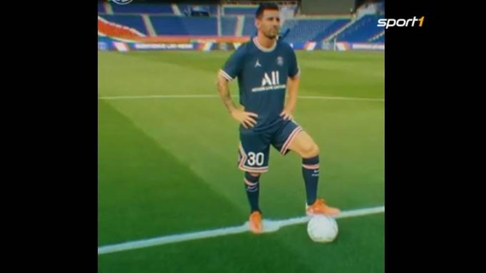 Der Mega-Deal des Sommers ist offiziell: Lionel Messi geht zu Paris Saint-Germain. Mit einem Drohnen-Video vermeldet PSG den Deal als perfekt.