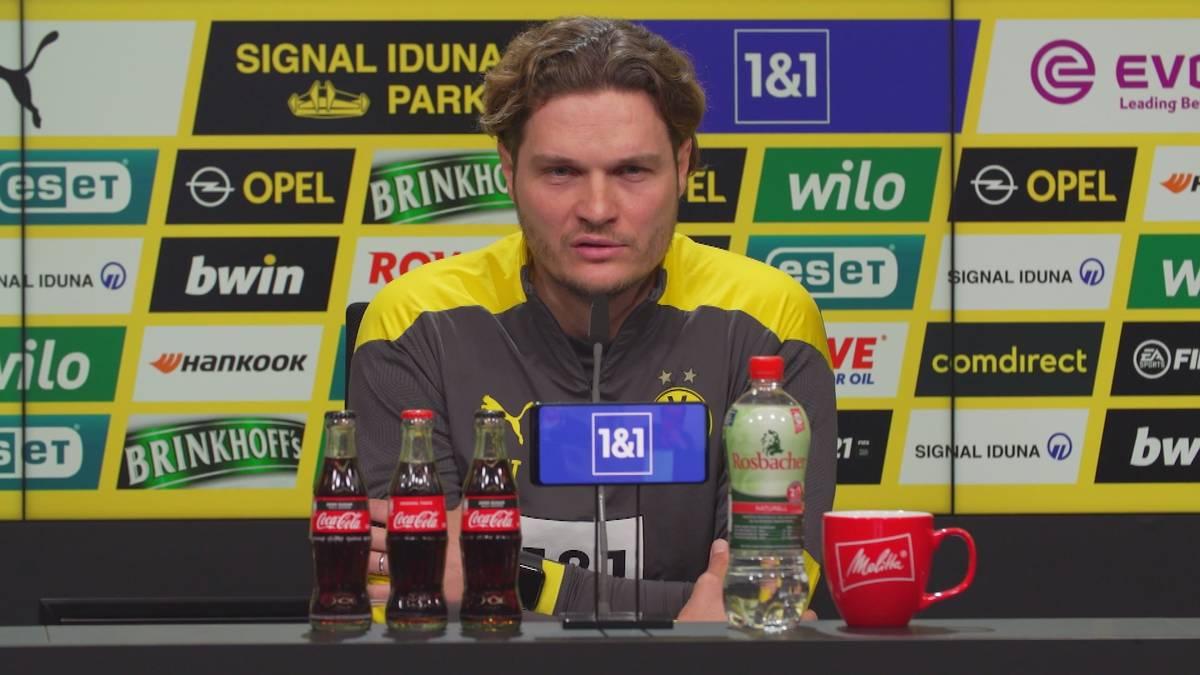 Bei Borussia Dortmund ging die Formkurve zuletzt nach unten. Coach Edin Terzic sieht sein Team aber auf einem guten Weg.