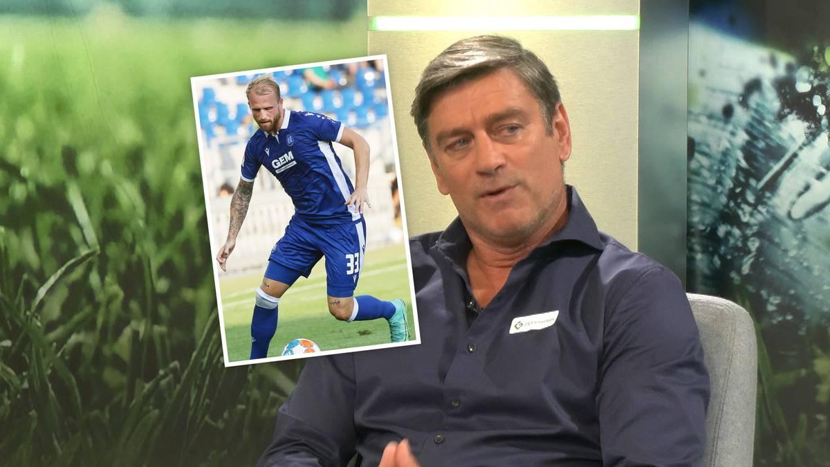 Im Doppelpass 2. Bundesliga stellt KSC-Geschäftsführer Oliver Kreuzer klar, dass Philipp Hofmann eigentlich unverkäuflich ist, lässt aber eine Hintertür offen.