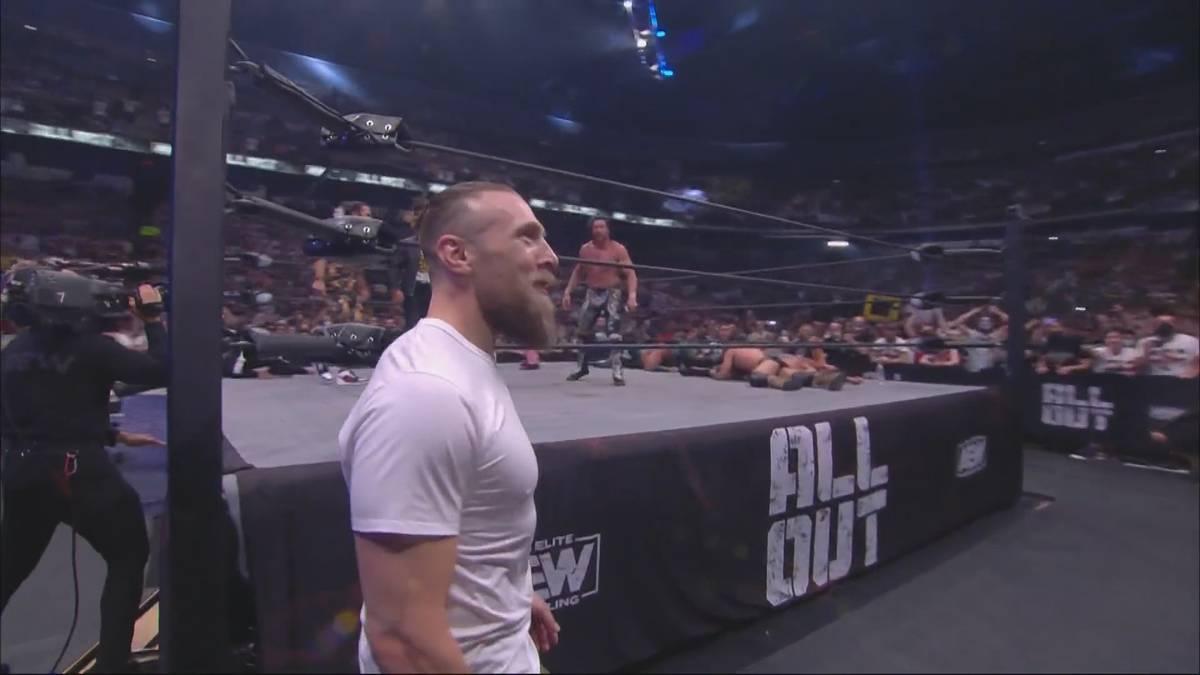 Einer der größten Publikumslieblinge der WWE-Geschichte wagt den Neubeginn bei AEW: Bryan Danielson, der frühere Daniel Bryan, stellt sich gegen Champ Kenny Omega und sorgt für einen Jubelsturm.