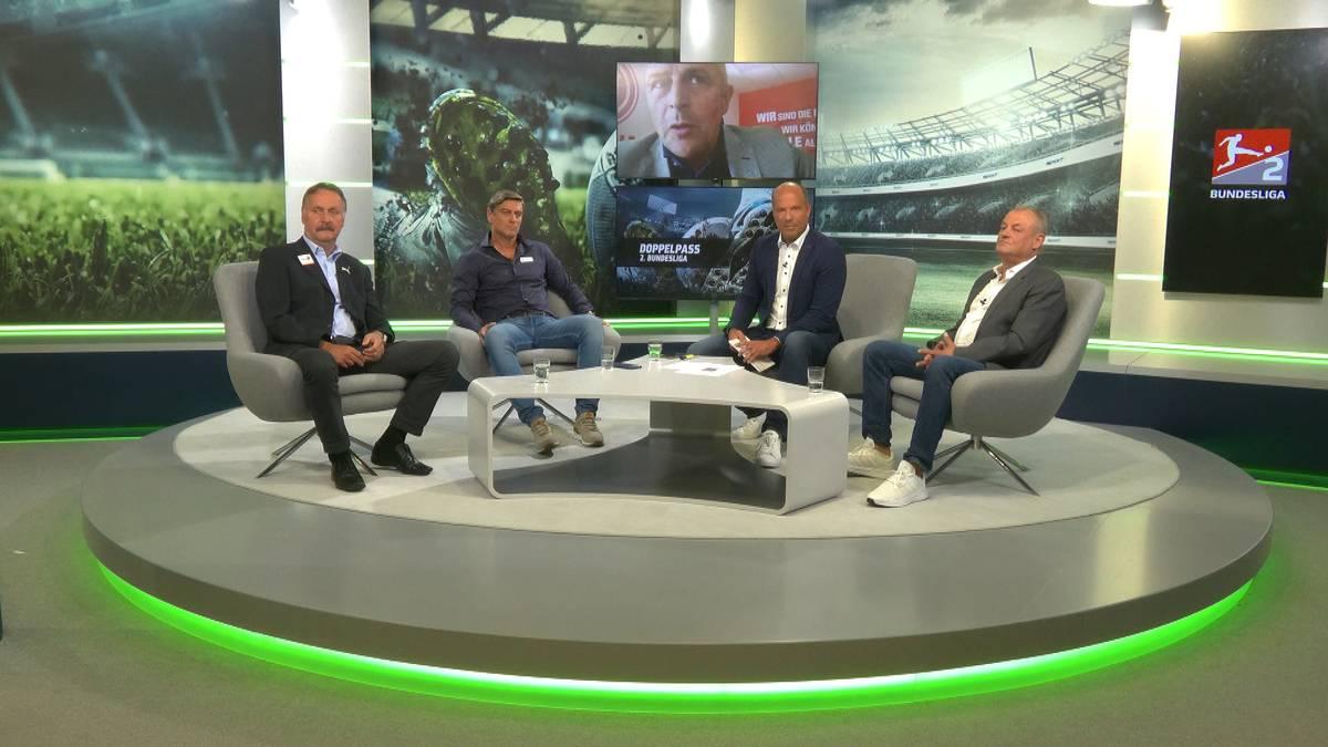 Fortuna-Vorstand Klaus Allofs verrät im Doppelpass 2. Bundesliga, warum sich Düsseldorf für die mutige Lösung mit Christian Preußer als Trainer entschieden hat.