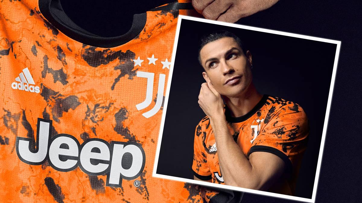 Juventus Turin hat das dritte Trikot für die Saison 2020/21 präsentiert. Erstmals in der Klub-Geschichte wurde die Farbe Orange benutzt.