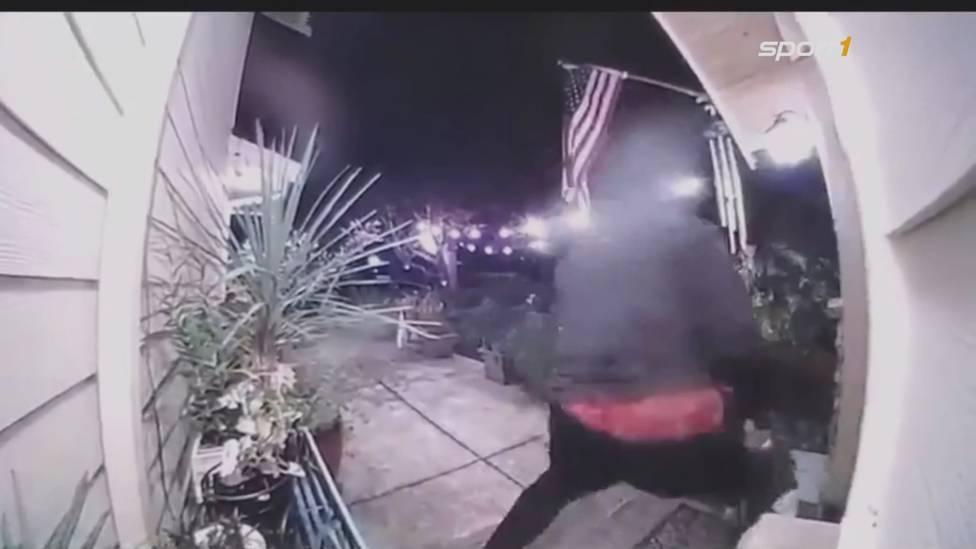Richard Sherman füllt die Schlagzeilen mit seiner Verhaftung, nachdem er versuchte, in das Haus der Schwiegereltern einzudringen. Nun ist das Video mit seinen schockierenden Szenen aufgetaucht...