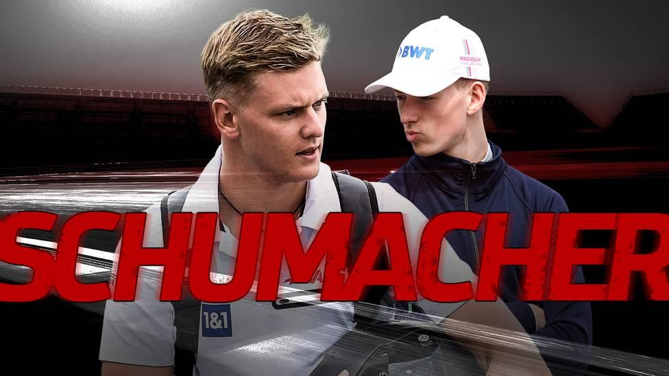 Mick und David Schumacher werden regelmäßig Opfer von Attacken auf der Rennstrecke. Ist ihr berühmter Nachname Fluch und Segen zugleich?