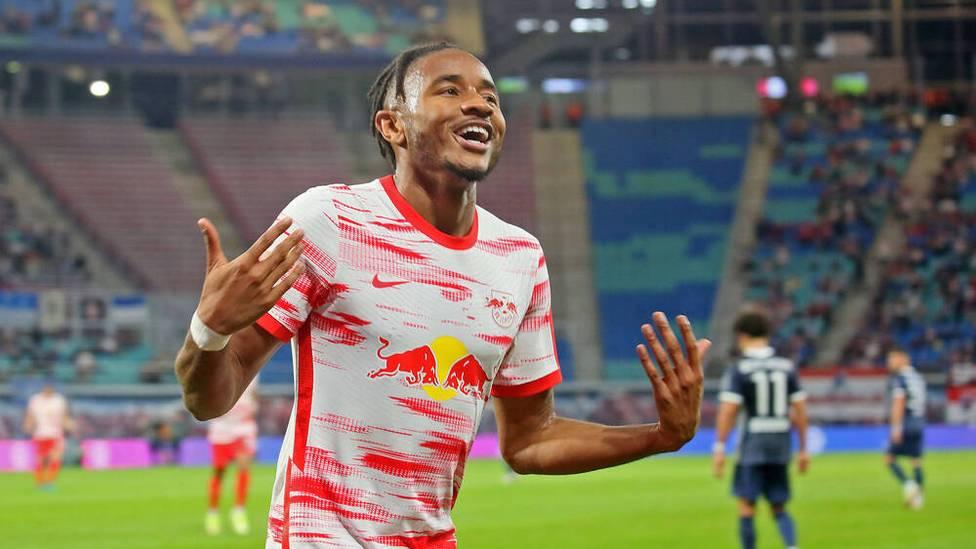 Christopher Nkunku ist in Topform und liefert bei RB Leipzig ab. Angeblich wurde der Franzose Real Madrid angeboten.