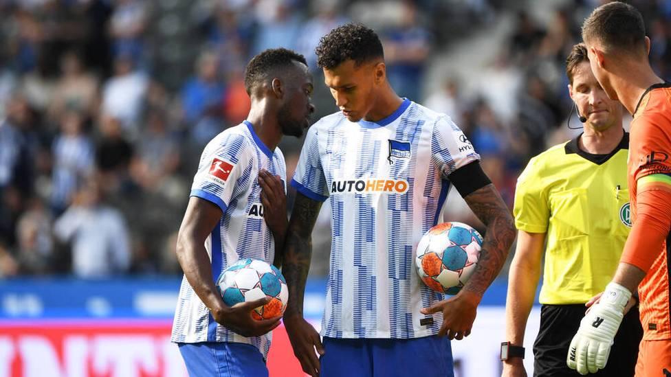 """Der Fehlstart bei Hertha BSC ist perfekt: Als einziges Team hat die """"Alte Dame"""" noch keinen Punkt - und jetzt geht auch noch einer der Topstars."""