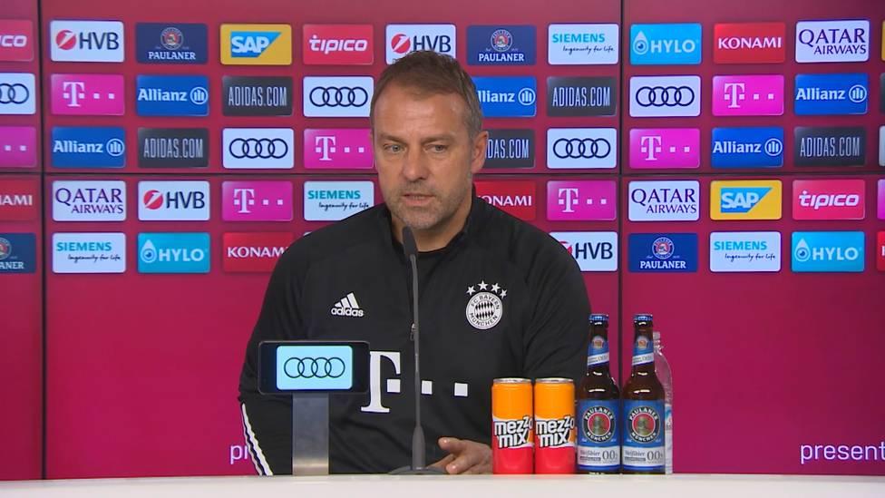 Hansi Flick hat Neuzugänge in der Winterpause quasi ausgeschlossen. Der Bayern-Trainer spricht außerdem über die Neuzugänge des Sommers und was ihnen noch fehlt.
