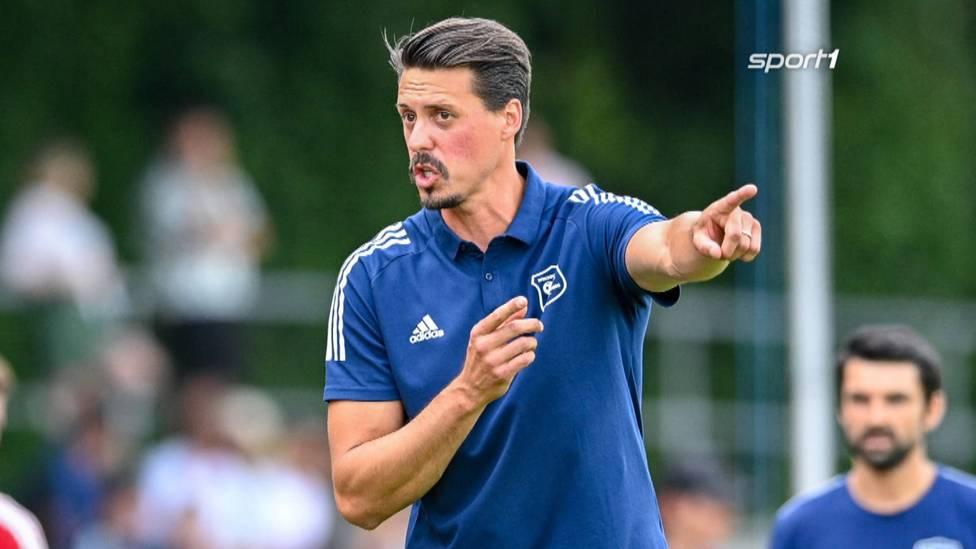 Der ehemalige Nationalspieler Sandro Wagner bekommt seinen ersten Job als Cheftrainer. Er übernimmt bei der SpVgg Unterhaching.
