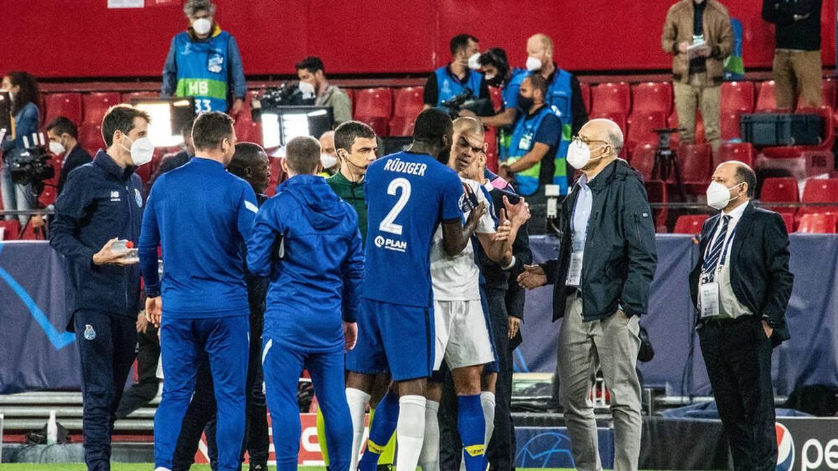 Der FC Chelsea hat erstmals seit sieben Jahren das Halbfinale der Champions League erreicht. Nach dem Spiel gegen den FC Porto wurde es hitzig.