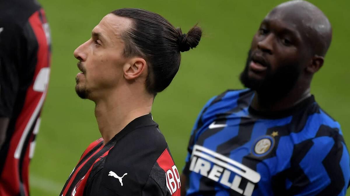 Nächste Runde im Privatduell der Mailänder Stürmerstars! Am Sonntag holte Romelu Lukaku mit Inter den Titel in der Serie A.