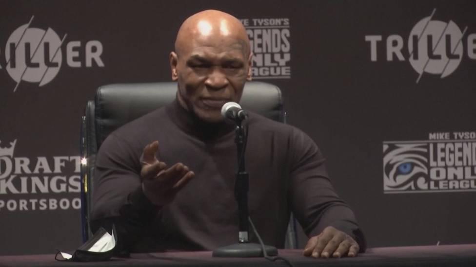 Mike Tyson ist zufrieden mit seinem Comeback gegen Roy Jones Jr. - und kündigt für seinen nächsten Fight bereits Großes an.