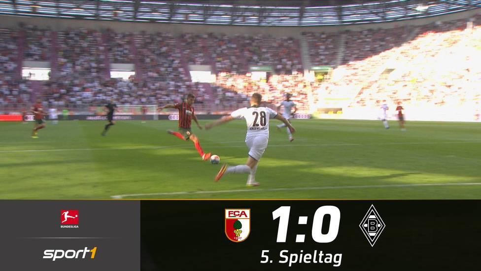 Der Fehlstart von Adi Hütter und Borussia Mönchengladbach ist perfekt. Florian Niederlechner schießt die Fohlen weiter in die Krise.