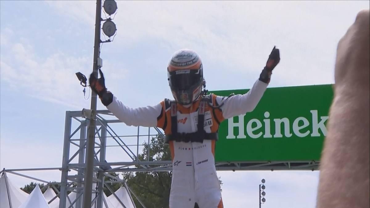 Larry ten Voorde schnappt sich in Monza den Titel im Porsche Mobil 1 Supercup. Der Niederländer gewinnt das Saisonfinale und zieht an Dylan Pereira vorbei.