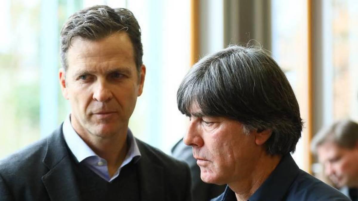 Der Nationalmannschaftsdirektor geht davon aus, dass Bundestrainer Löw seinen Vertrag bis 2022 erfüllen wird.