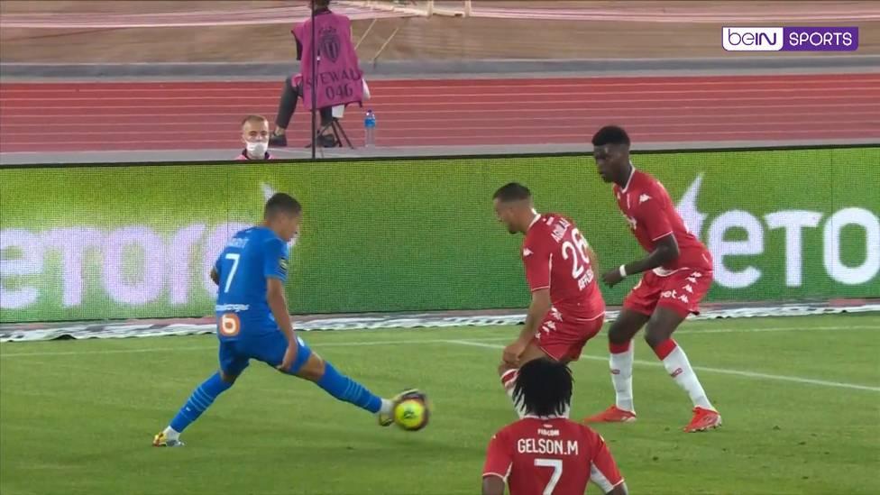 Kaum in Marseille angekommen, stand Amine Harit bei seinem Debüt direkt in der Startelf. Der von Schalke ausgeliehene Offensivspieler brillierte beim 2:0 von Olympique Marseille gegen die AS Monaco.