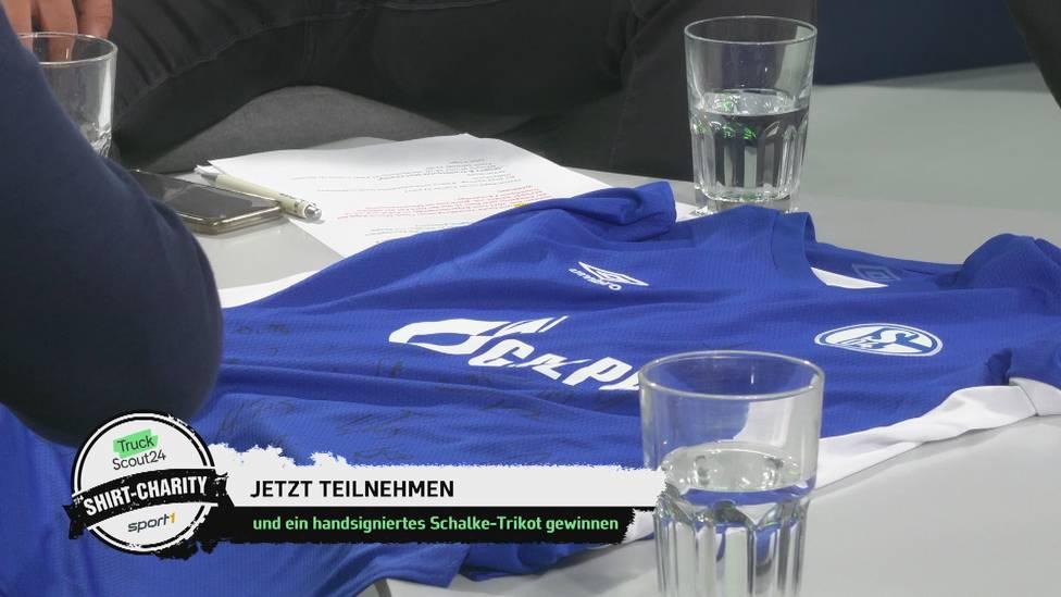Nehmen Sie jetzt an der Charity-Aktion des Maschinensucher Doppelpass 2. Bundesliga und TruckScout24 teil und ersteigern Sie ein handsigniertes Schalke-Trikot.