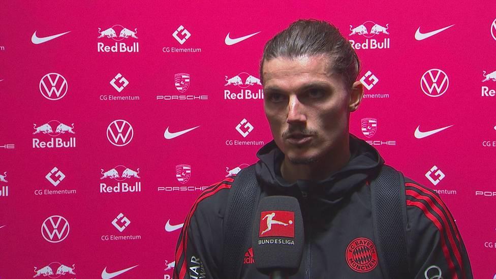 Marcel Sabitzer wird bei seiner Rückkehr nach Leipzig von den Heimfans ausgepfiffen. Der Bayern-Star zeigt sich enttäuscht.