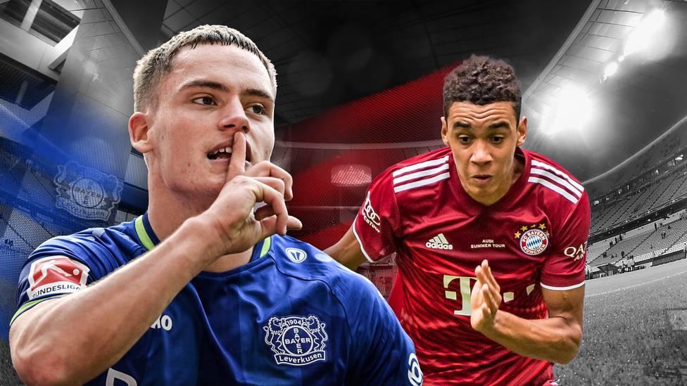 Florian Wirtz und Jamal Musiala sind DIE Shootingstars der Bundesliga. Doch wer von den beiden Megatalenten hat aktuell im direkten Vergleich die Nase vorn?