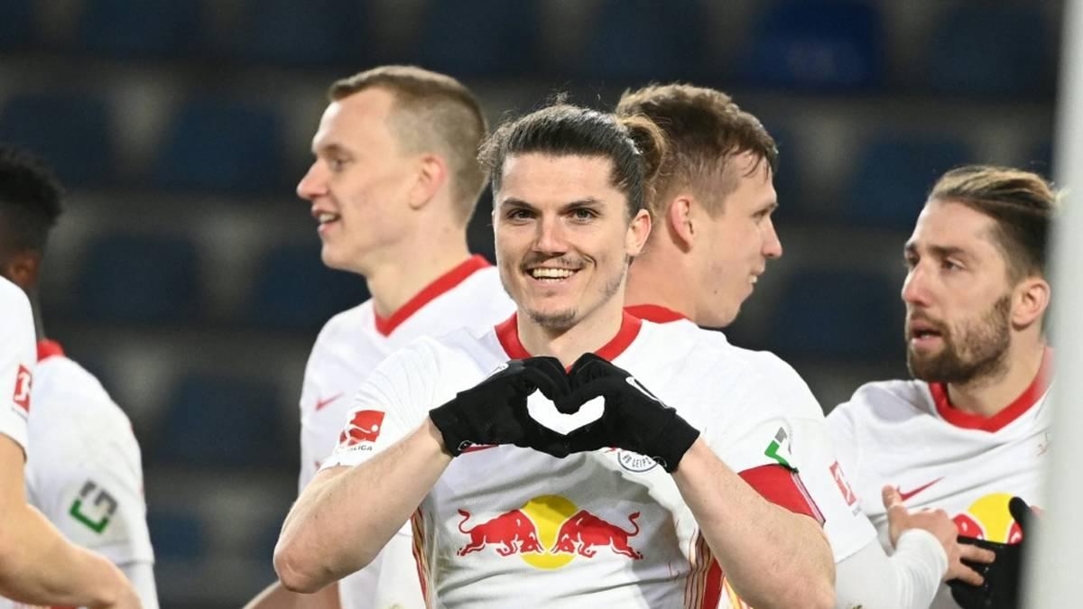 Borussia Dortmund soll ein Auge auf RB-Kapitän Sabitzer geworfen haben. Wie die Sportbild berichtet, sollen die Dortmunder Verantwortlichen den 27-Jährigen schon länger beobachten.