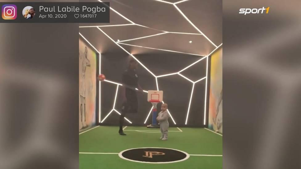Paul Pogba und Zlatan Ibrahimovic haben per Instagram zur Skills-Challenge aufgerufen. Die ist mittlerweile ein Privatduell der beiden Superstars geworden.