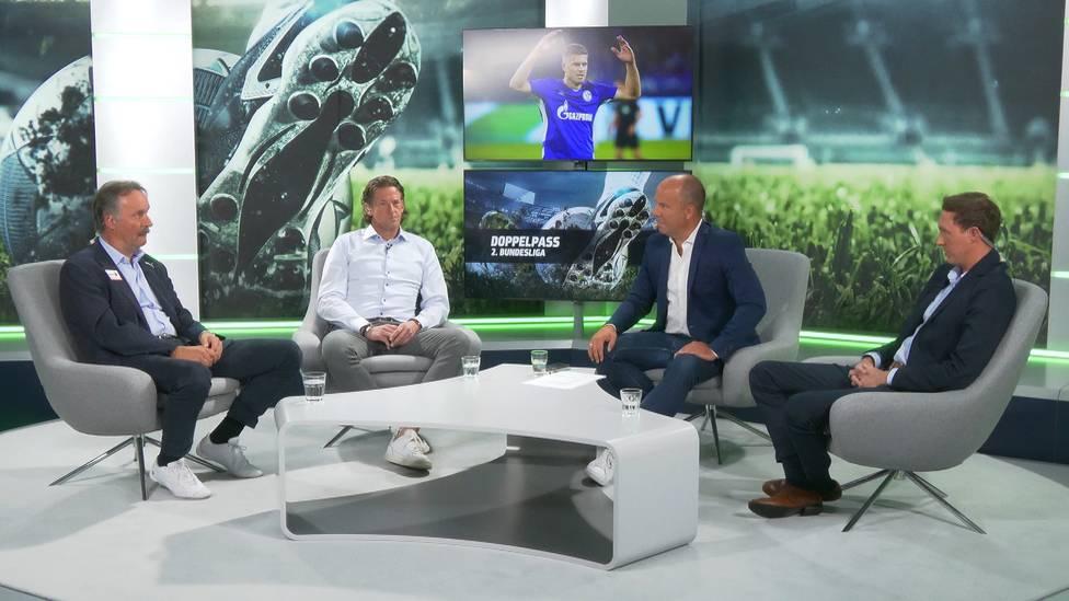 Simon Terodde knippst auch beim FC Schalke 04 einfach weiter. Im Doppelpass 2. Bundesliga diskutiert die Runde über die Qualitäten des Stürmers.