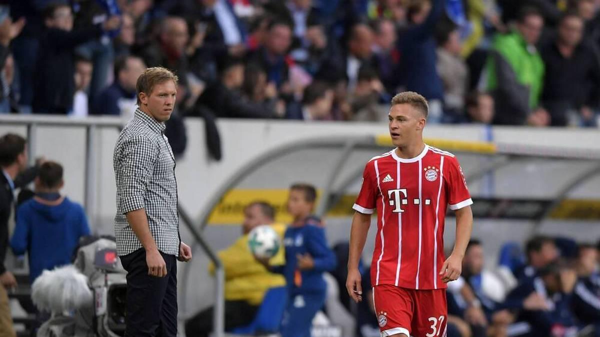 Neu-Coach Julian Nagelsmann hat in einem Interview bei Sky über seinen Plan mit Bayern-Star Joshua Kimmich gesprochen.