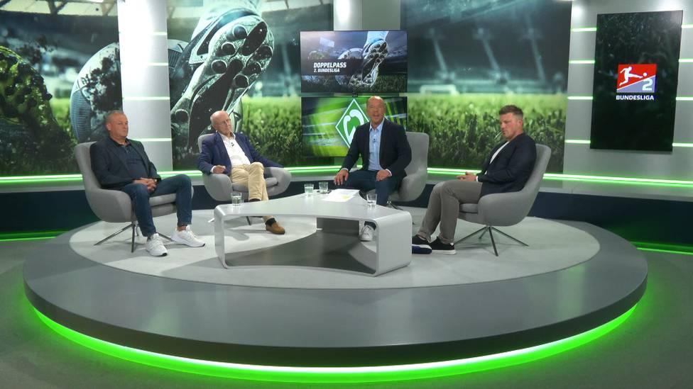 Der Doppelpass 2.Bundesliga vom 20.September in voller Länge zum Nachschauen - unter anderem mit dem Trainer des SC Paderborn Lukas Kwasniok und Willi Lemke