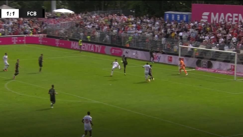 Julian Nagelsmann verliert sein erstes Spiel als Bayern-Trainer gegen den 1.FC Köln. Und das auch, weil Mark Uth traumhaft trifft.