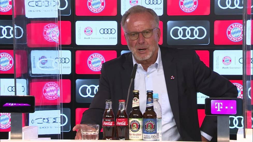 """Das CAS-Urteil zu Gunsten von City sorgt weiter für Aufregung. Karl-Heinz Rummenigge freut sich zwar für City-Coach Pep Guardiola, die UEFA kritisiert der Bayern-Boss aber dafür, """"keine gute Arbeit"""" gemacht zu haben."""