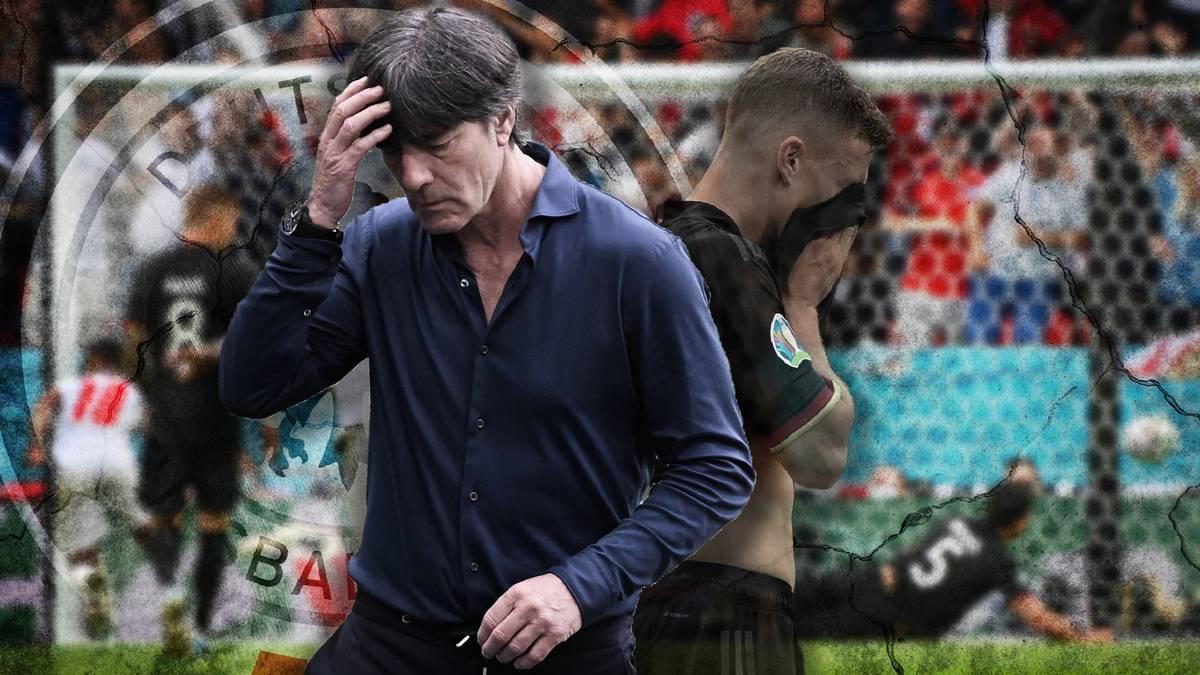 Deutschland fliegt im EM-Achtelfinale gegen England raus. Joachim Löw wechselt erst spät, wahrscheinlich sogar zu spät. Ein Mitgrund für das Ausscheiden?