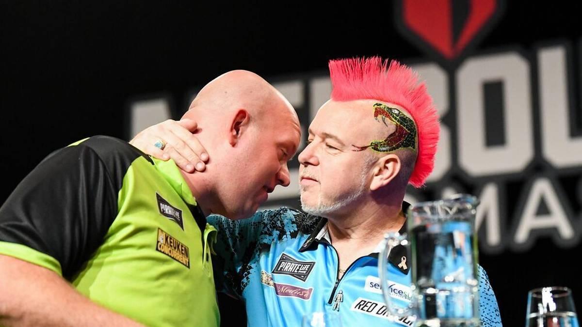Ungewohnt forsche Töne von Darts-Superstar Peter Wright: Der Schotte hat ein noch schwächeres Jahr von Michael van Gerwen als 2020 angekündigt.